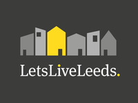 Local Letting Agents Logo - Reverse