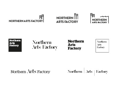 Northern Arts Factory Logo Ideas