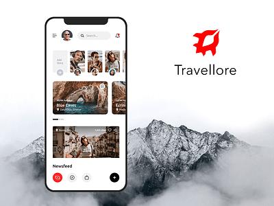 Travellore App - UI/UX   Modern & Minimal design minimal app travel ux ui