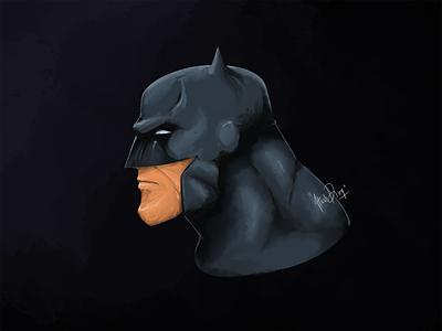 Batman - The Knight of the Gotham fan art illustraion digital painting digital art photoshop