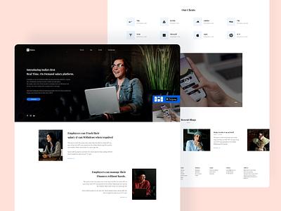 Refyne Website Redesign xd design ui ux