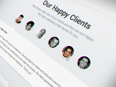 Client Reviews review testimonial client stars ui rating page