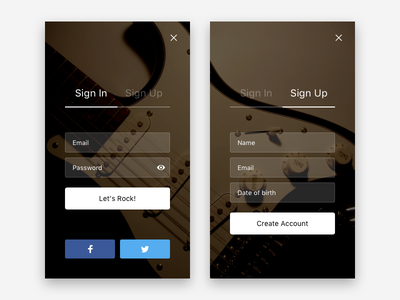 Daily UI #001 — Sign Up freebie sketch account registration dailyui profile in login up sign