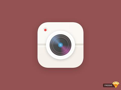 Daily UI #005 — App Icon sketch freebie camera photo dailyui app icon apple