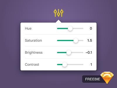 Daily UI #007 — Settings sketch freebie adjust settings dailyui