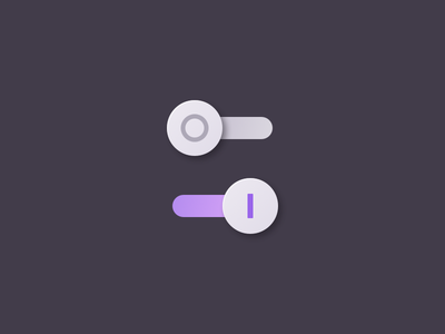 Daily UI #015 — On/Off Switch toggle switch off on sketch dailyui