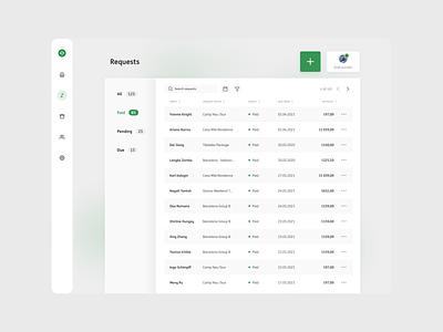 Requests branding minimal web icon vector simplicity ux ui app design
