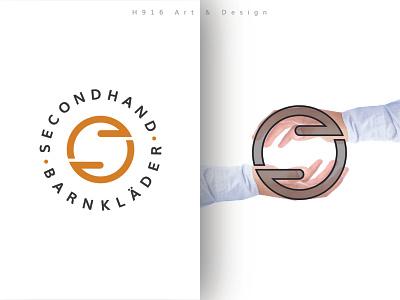 Secondhand Barnklader Logo logo design minimalist logo mark logo designer for hire logo design concept identity professional logo graphics design clean vector minimal logodesign logo illustration flat design branding