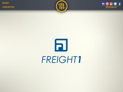 Freight First. minimal icon vector logodesignchallenge logodesign logodesainer logodaily logo illustration design flat branding 30dayslogochallenge 30daychallenge