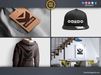 OAKAO Fashion Brand Logo. identity designer identity design brand and identity logo 2d design agency design art designerforhire identity illustrator graphics design clean vector minimal logodesign logo illustration icon flat design branding