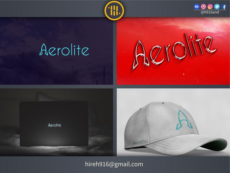 Aerolite Logo logodesignersclub logodesigner hireme graphics design illustrator logotype clean vector minimal logodesign logo illustration icon flat design branding
