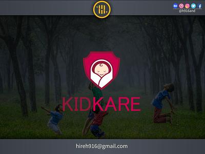 Kidkare Logo designer for hire logo designer for hire logo designer identity illustrator graphics design clean vector minimal logodesign logo illustration icon flat design branding