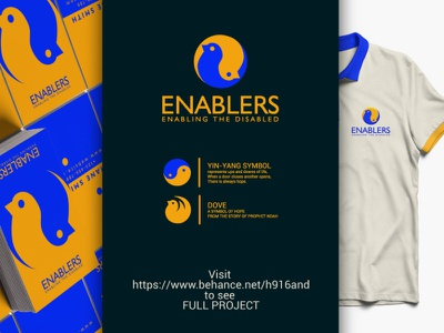 Enablers logo Design brandidentity logodesigner logotype clean vector minimal logodesign logo illustration icon flat design branding
