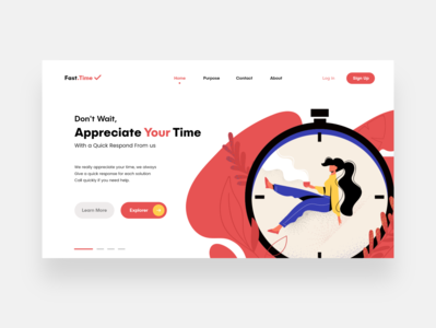 Landing page - Fast.Time