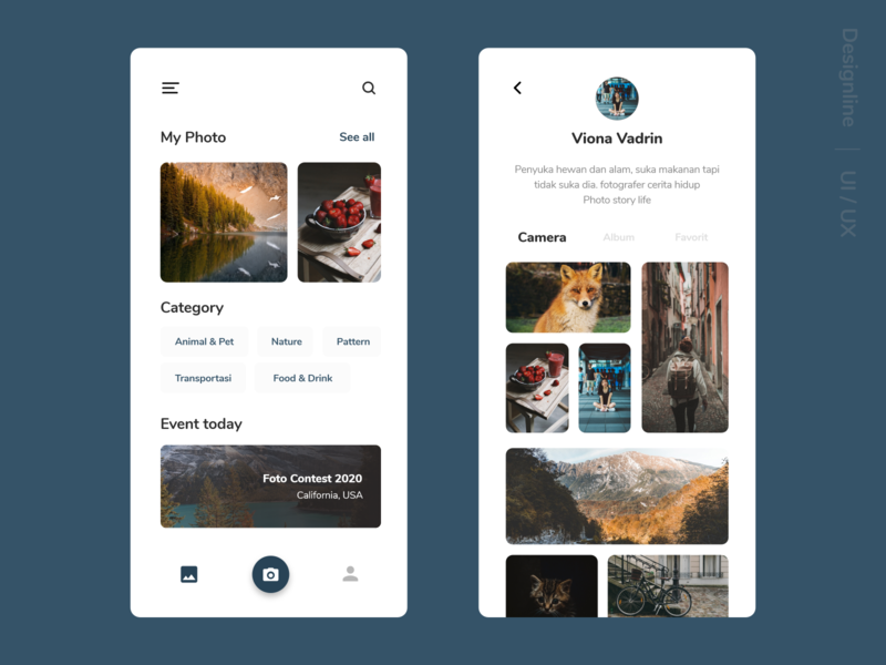 Gallery Apps - Personal today photoshop windows apple ios android google apps design ui design adobe xd gallery art gallery