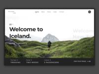 Find Your Adventure – Web Concept