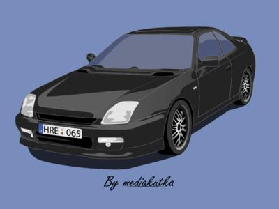 Honda Prelude Illustration