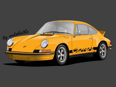 Porsche Carrera RS Illustration