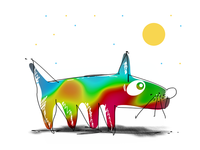 Regenbogenhund
