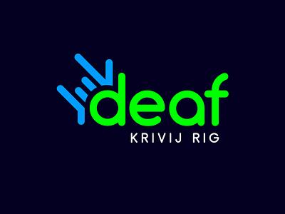 Логотип Центра слабослышащих Кривого Рога logo poster вебдизайн графический дизайн design