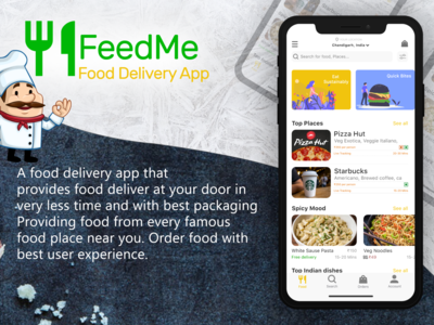 Feed Me ( Food Delivery App) UI/UX