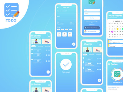 To Do App UI UX + Full Project Link