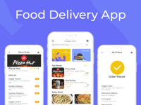 Food Delivery app UI UX