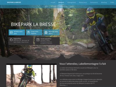 🚲Redesign bikepark website