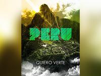 Peru Machu Picchu Poster