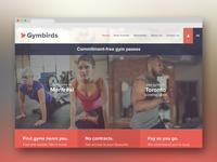 Gymbirds Web Design