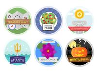 Game Theme Badges