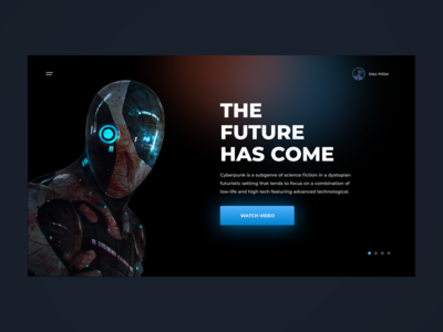 CYBERPUNK FUTURE | 1 DAY = 1 SITE (CHALLENGE)