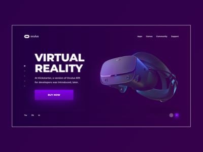 OCULUS RIFT | STEAM VR | 1 DAY = 1 SITE (CHALLENGE)
