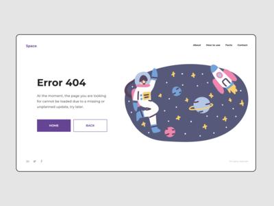 SPACE X | 404 ERROR | FEDOROV DESIGN