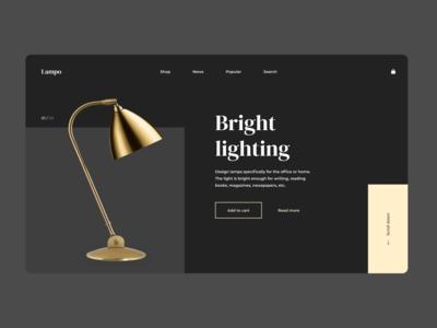 DESIGN LAMP STORE | MINIMALISM | FEDOROV DESIGN