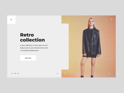 CLOTHING STORE | WEBSITE | FEDOROV DESIGN