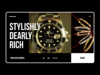 ROLEX CARTIER | WEBSITE | FEDOROV DESIGN