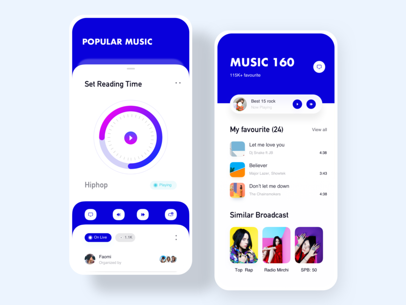 Music-popular-sing-culture-APP 牌 卷筒纸 设计 ux 流行 ui 应用