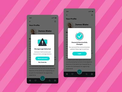 Daily UI 011 - Flash Message dailyui daily ui mobile ui design
