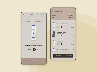 Daily UI 012 - E-commerce Shop daily ui mobile ui design
