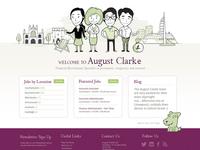 August Clarke Homepage