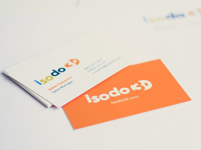 Isodo3d Business Cards business cards stationery letterhead