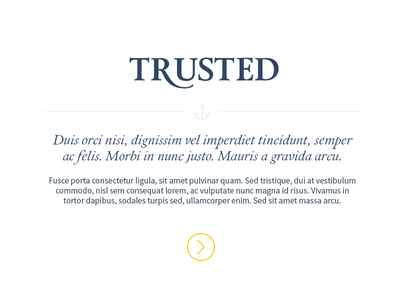 Type treatment for Marina Projects homepage section typography web design website calendar serif font