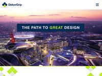 DekorGrip - Homepage Concept