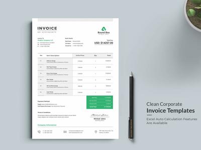 Invoice Template | Business Invoice | Receipt Template