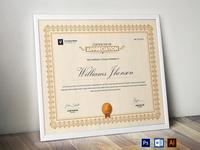 Certificate Template | Certificate Design