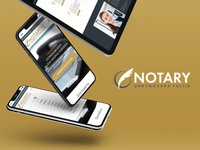 Updating the corporate website of the notary.