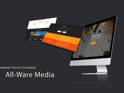 AWM Servis Računala javascript css html bootstrap website responsive web  design