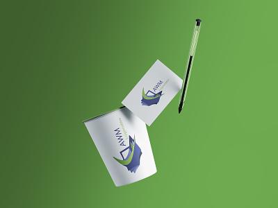 AWM Knjigovodstveni Servis vector graphic  design design logo branding