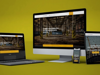 LID Gradnja - web stranica web development design javascript html css bootstrap web  design